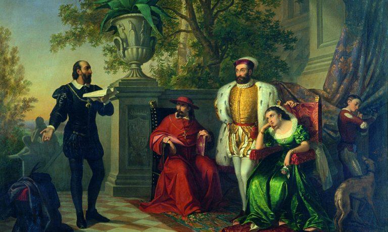 Ludovico Ariosto a Villa D'Este